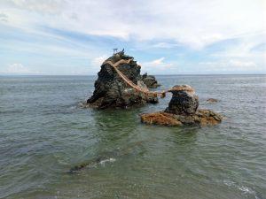 作品縁の地:夫婦岩(三重県)